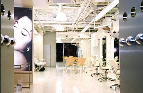 神奈川県 横浜市中区伊勢佐木町  美容室 内装工事