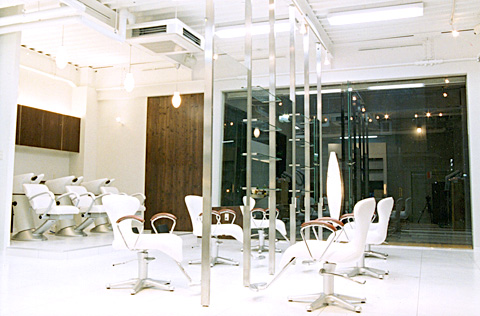 大阪府 大阪市 東成区 美容室の店舗デザイン施工事例
