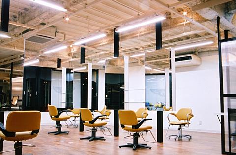 大阪府 和泉市 美容室の店舗デザイン施工事例