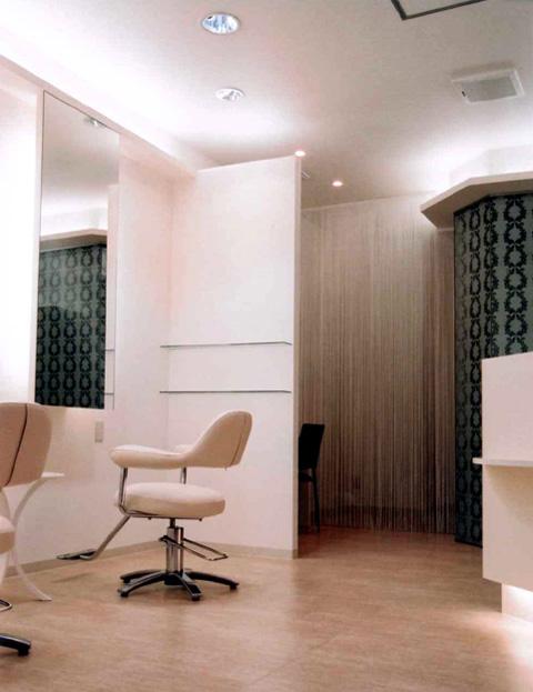 大阪府 大阪市 生野区 美容室の店舗デザイン施工事例