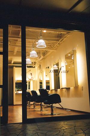 大阪府 美容室の店舗デザイン施工事例