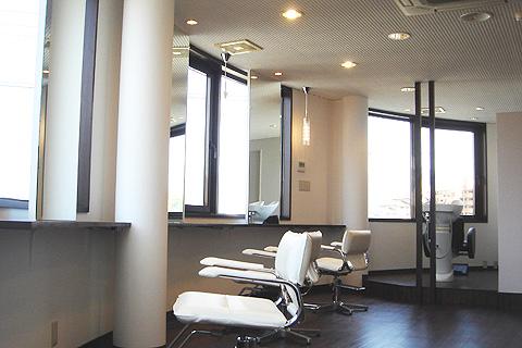 大阪府 富田林市 美容室の店舗デザイン施工事例