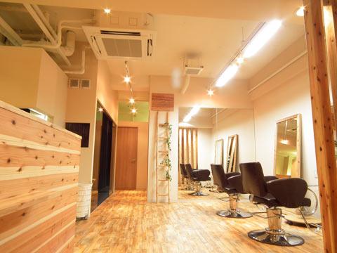 兵庫県 加古川市 美容室の店舗デザイン施工事例