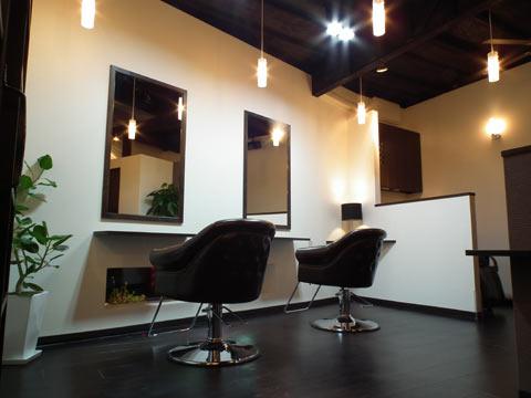 大阪府 大阪市 城東区 美容室の店舗デザイン施工事例