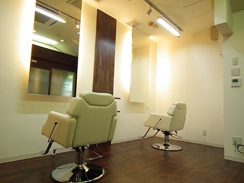 兵庫県 西宮市 美容室の店舗デザイン内装工事